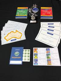 Trophy, Certificates and Passports